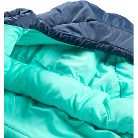 Haglöfs Musca -13 Sleeping Bag 175cm Women midnight blue/mint